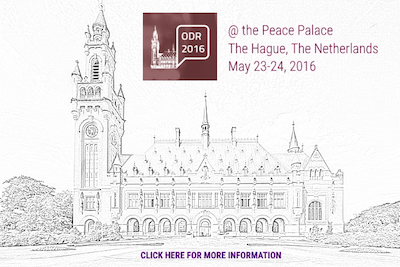 ODR 2016 at The Hague